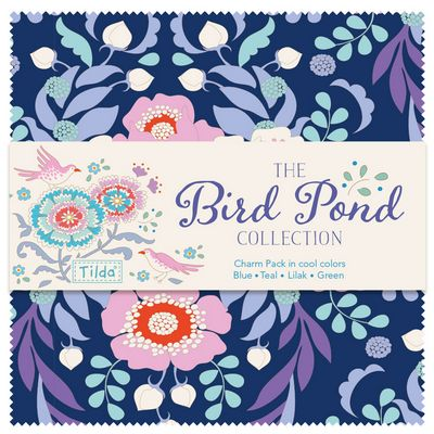 Shoreline Sewing Machine Company Bird Pond Fabric Collection photo
